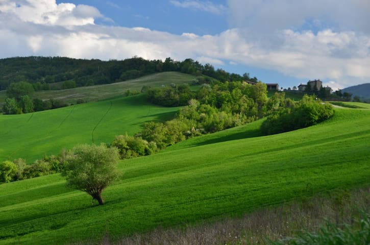 Rivergaro, 12 km da centro Piacenza - Piacenza - Apartamento