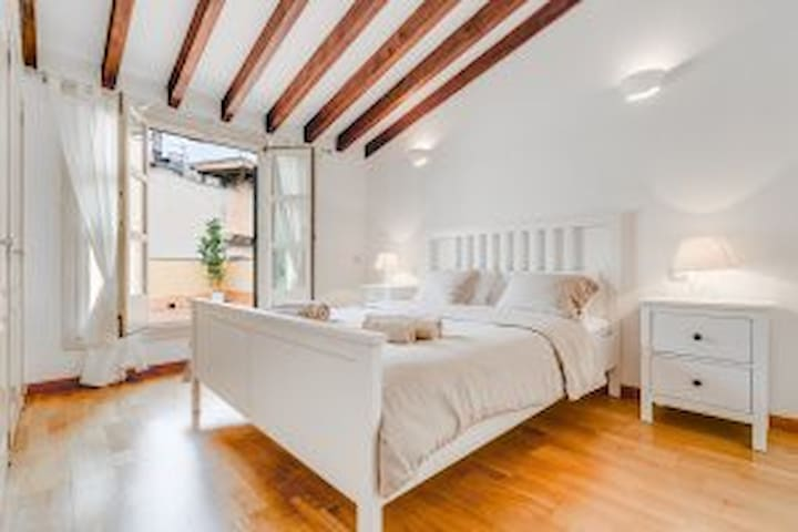 STUNNING 1BR w/ TERRACE IN HISTORIC CENTER (4A)
