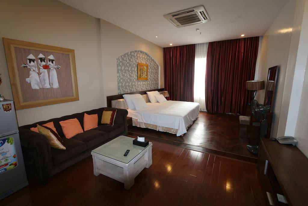 Very very big and nice room