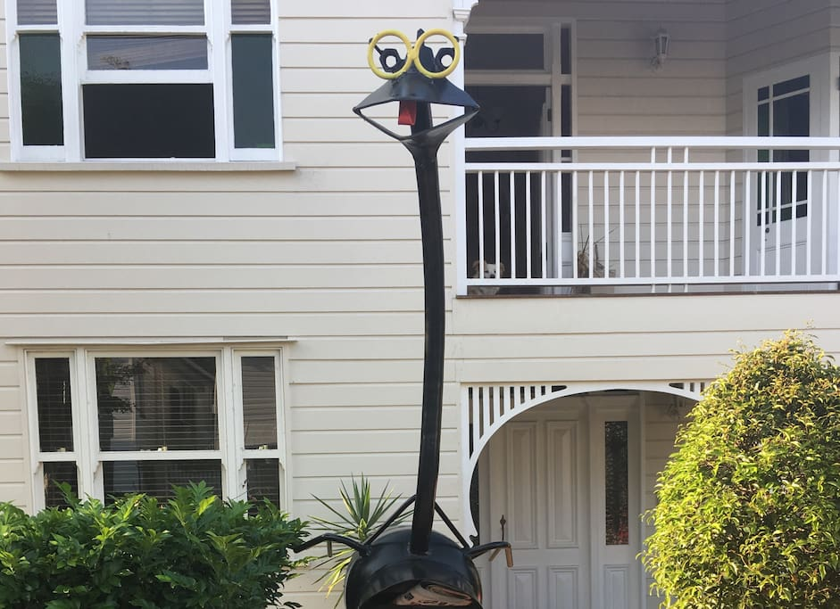 Earnie the Emu Letterbox.