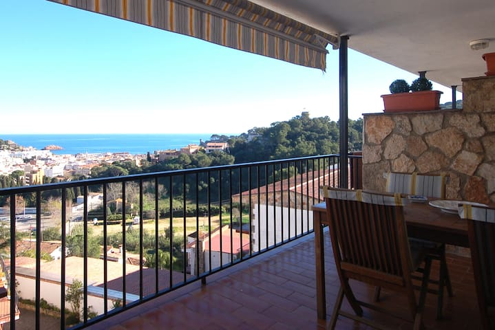 SEA VIEWS APARTMENT in SA GABARRA - Tossa de Mar - Apartament