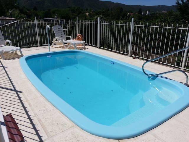 House with pool in the Tia Nene mountain range