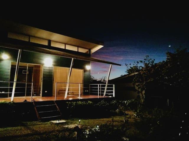 Casa de campo tipo bungalow