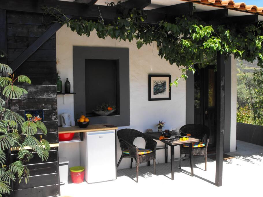 Apartment Terrace & Summer Kitchen
