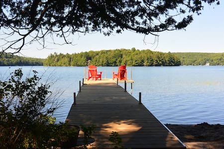 Family-friendly cottage on Three Mile Lake - Burk's Falls