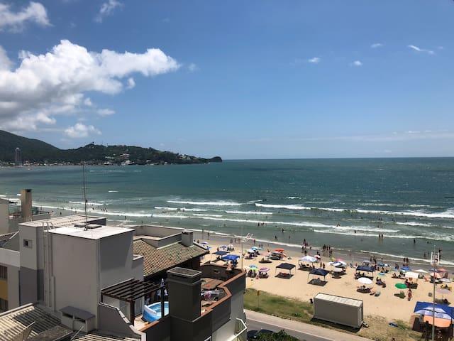 ★★★★★ Apt novo Itapema Beira Mar, 3 quartos, 2 vg