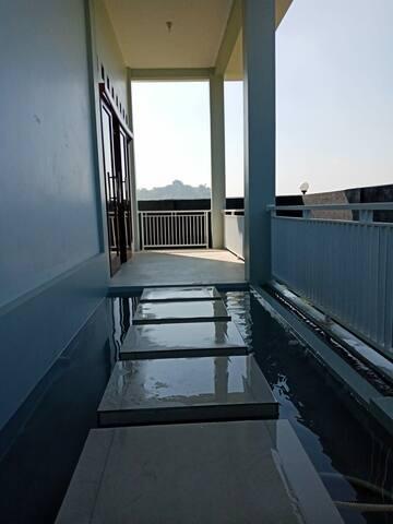 Villa baru di cipanas 4 kamar kolam renang