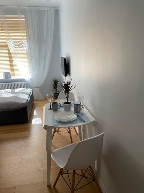 Top location. Riga central, sunny apartment.