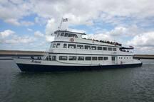 Ga een dagje naar Zierikzee/Goes of op zeehondensafari met de rondvaartboot vanuit de haven