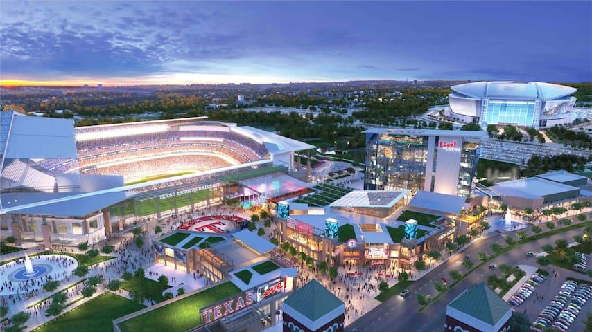 Arlington Entertainment District