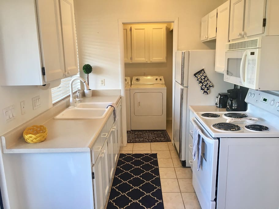 Full Kitchen and Laundry