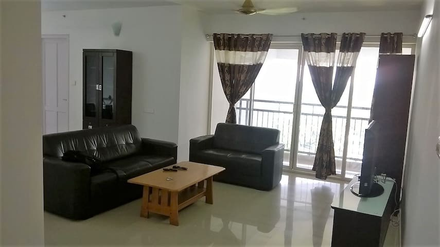 Cosy 3 Bedroom Apartment in Kochi - Ernakulam - Apartemen