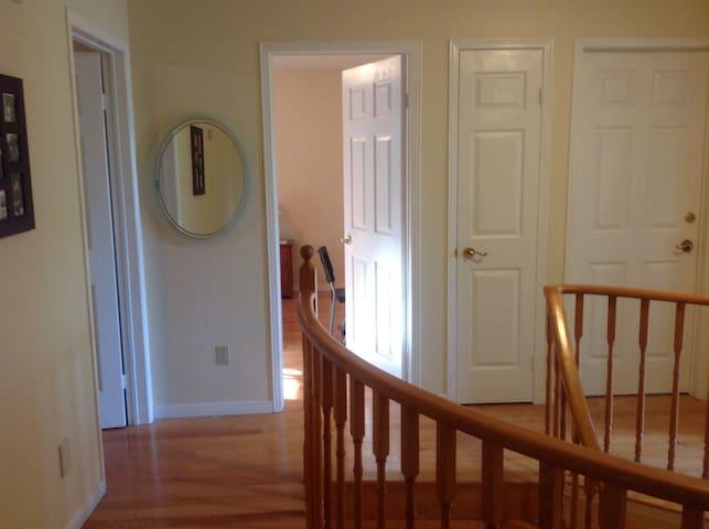 Bedroom One Hallway