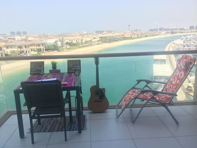 Seafront Haven on Palm Jumeriah - Dubai - Appartement