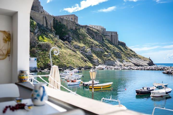 Cinzia's house in Marina di Corricella