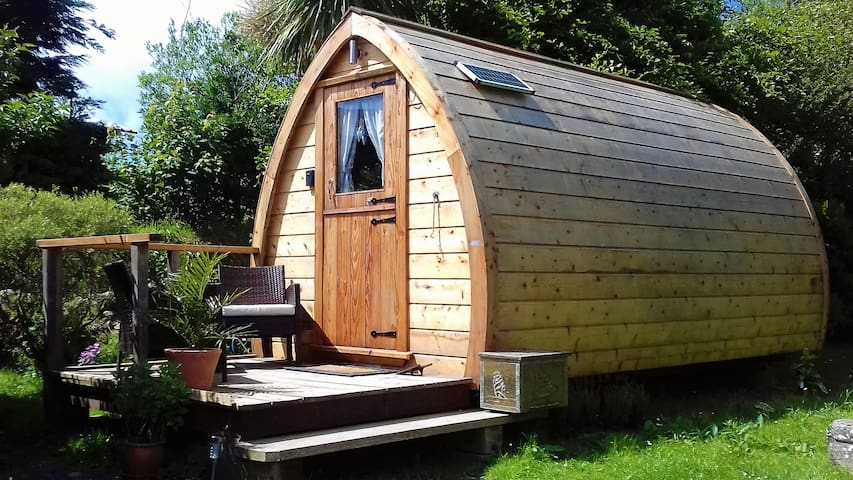 Comfy glamping on the Llŷn Peninsula with B&B