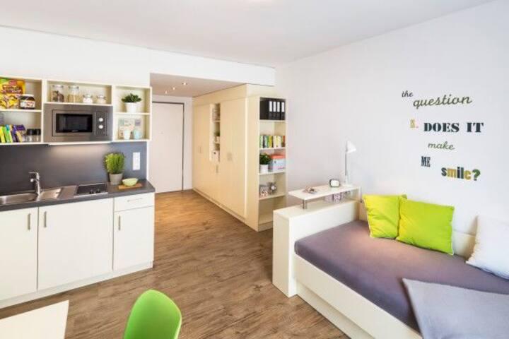 1 Zimmer Wohnung direkt in der Innenstadt