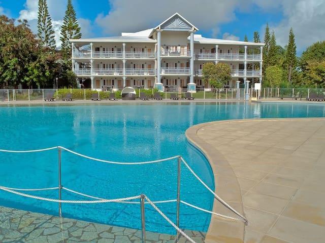Grand studio, piscine paradisiaque - Saint-Francois - Daire