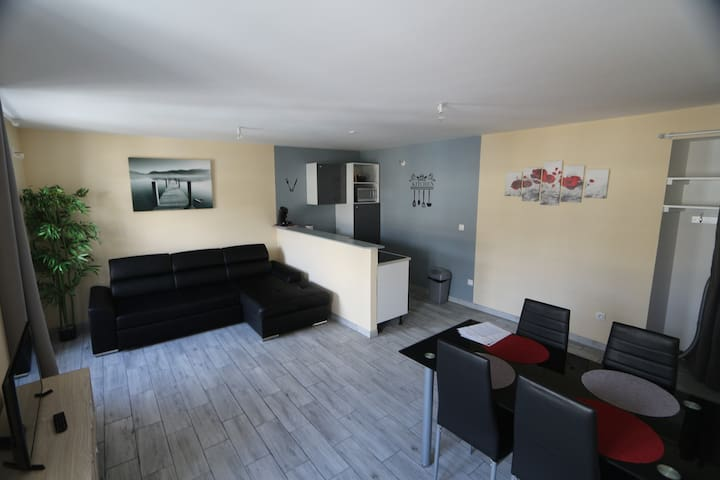 appartement 6 couchages centre ville acces 24/24