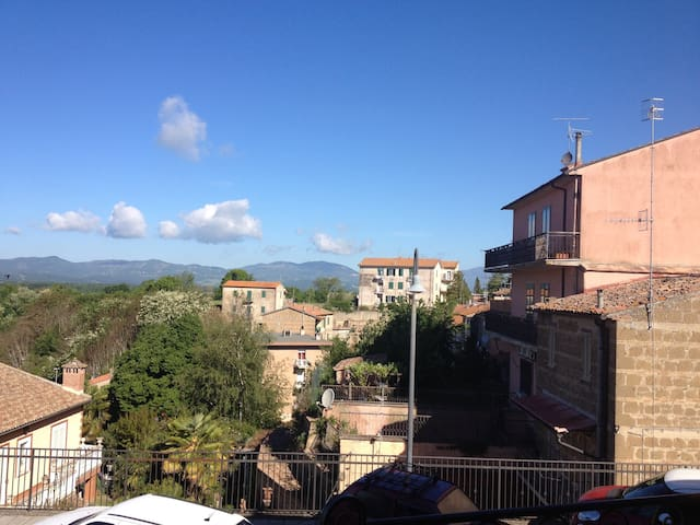 Tuscany, out of southern border, Northern Latium.