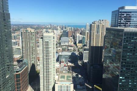 Luxury 2 bedroom apartment on 50th floor Downtown - 芝加哥