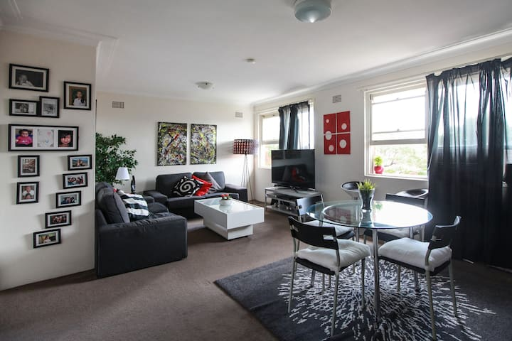 Quiet double room in Kingsford - Kingsford - Apartment