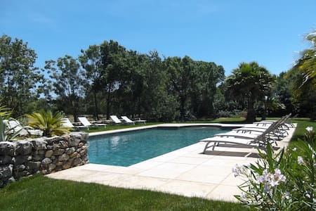 """House """"Le Pigeonnier"""" in great property with pool - Narbonne - House"""