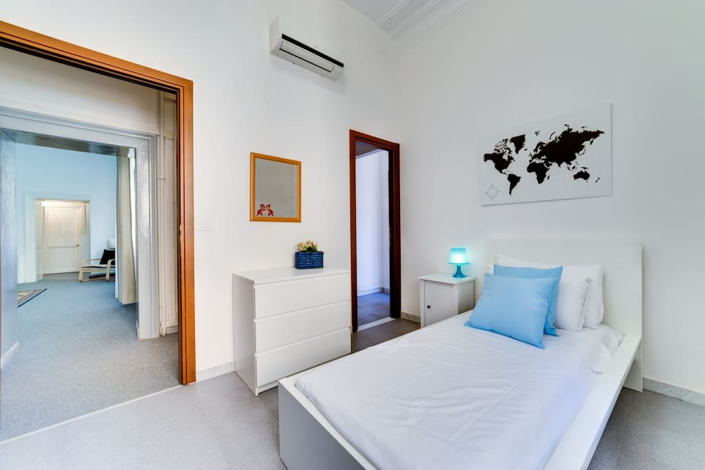 This is the third room with the single bed