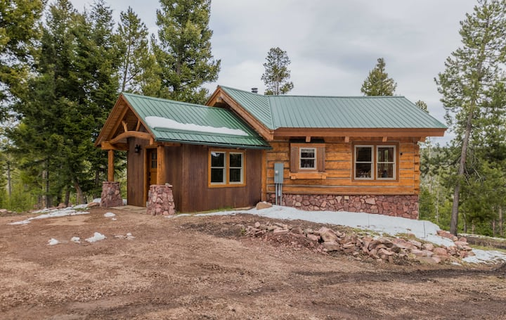 Custom Crafted Log Home with Dramatic Views