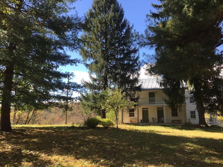Historic Home on 900-acre nature preserve