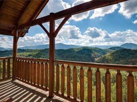 Appalachian Villa -Unobstructed View, Luxury cabin