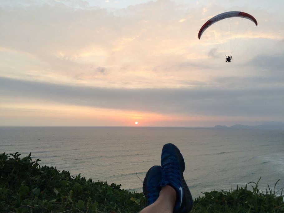 Cercania al malecón sunset y deportes