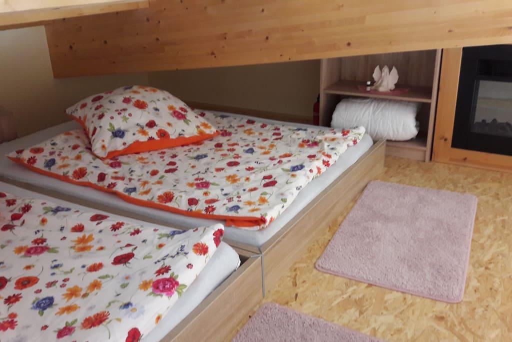 Kuschelige Schlafbox