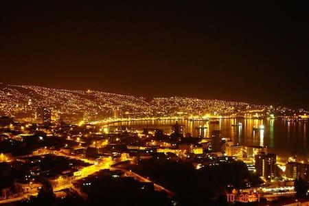 Departamento vista a la bahía de Valparaíso - Valparaíso