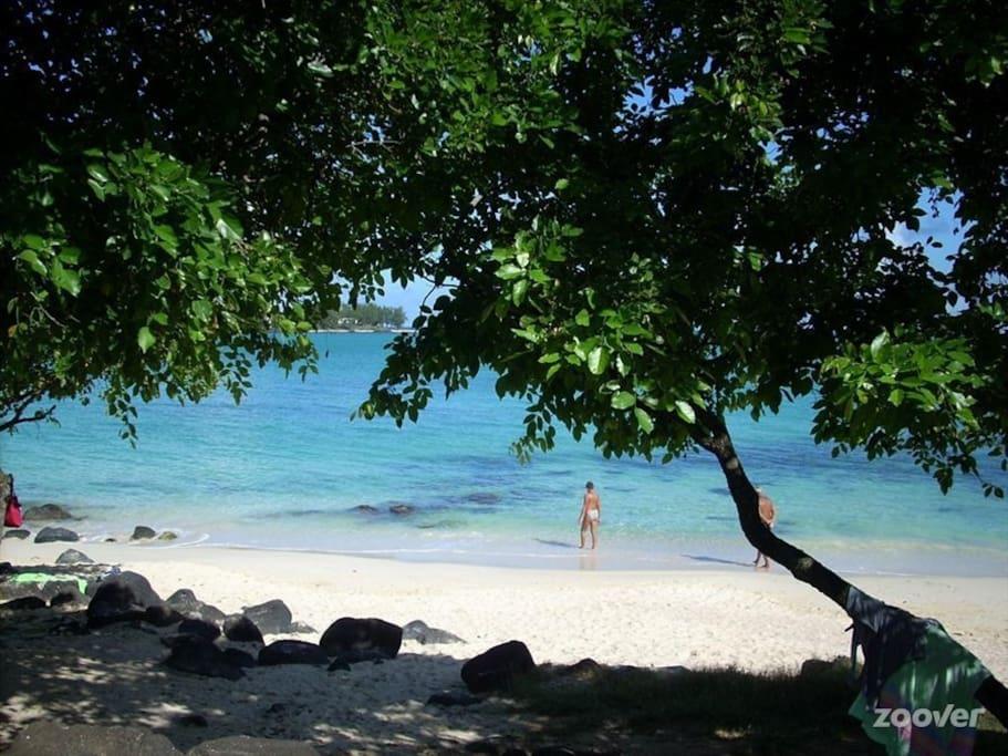 plage a 400 mètre