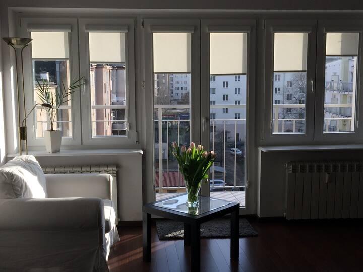 Komfortowy apartament studio w samym centrum Gdyni