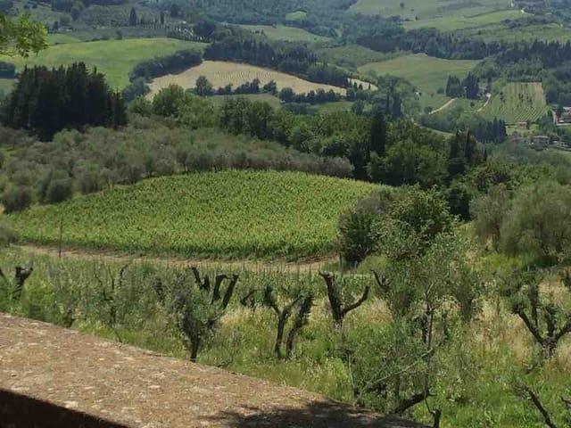 Il Pratello, antica colonica nel cuore del Chianti