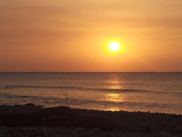 5分鐘到海邊看夕陽