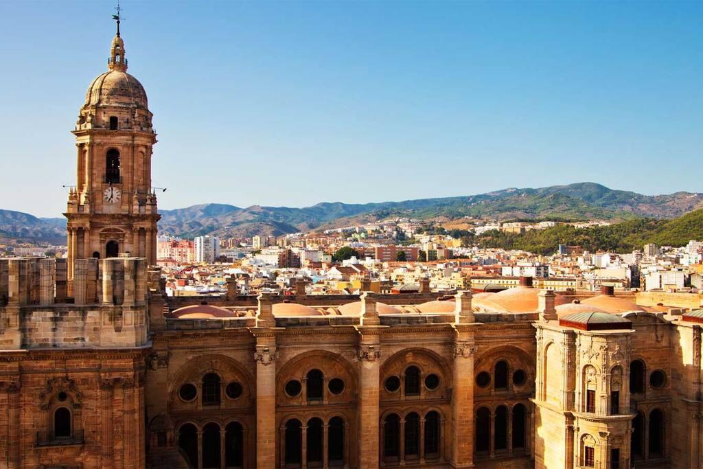 Vista de la ciudad casco histórico