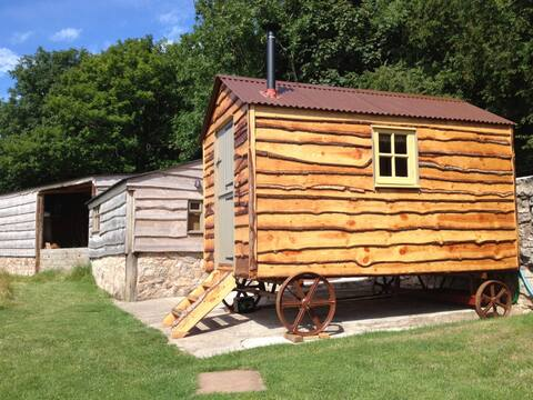 Luxury cabins with glorious views of Snowdonia