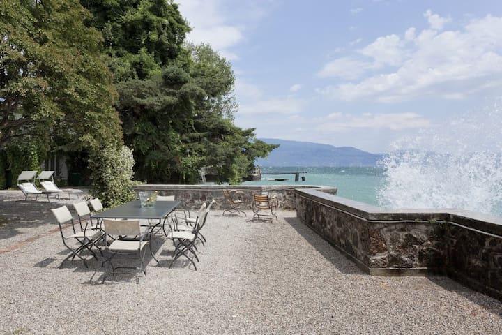 Villa Ondina - spiaggia privata