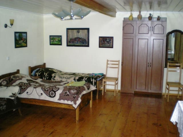 BED SPACE IN TWIN BED ROOM IN CENTER LAGODEKHI