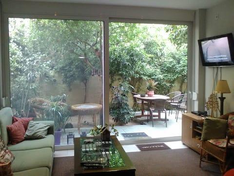 Ησυχο ισόγειο με κήπο, Περιστέρι  Αθηνα