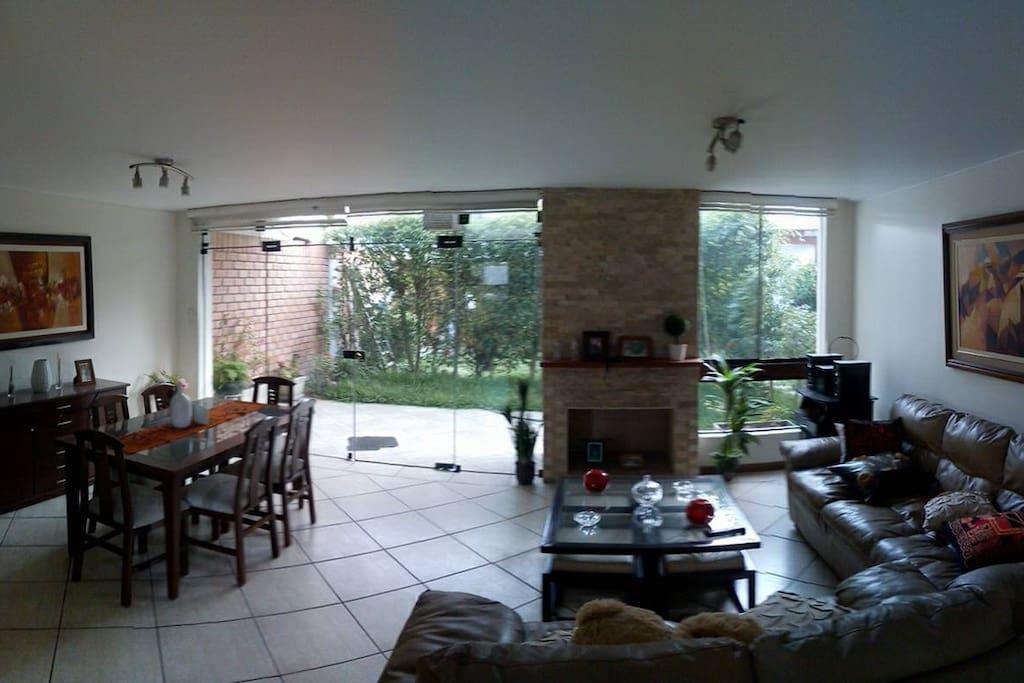 Interiores, sala