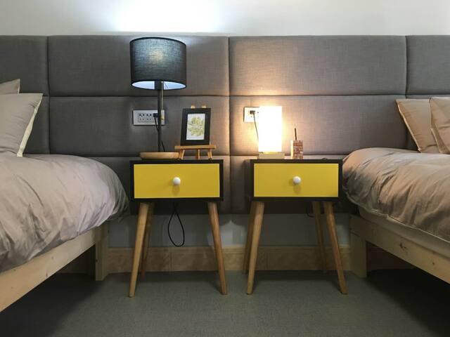 4张2*1.2米的单人床