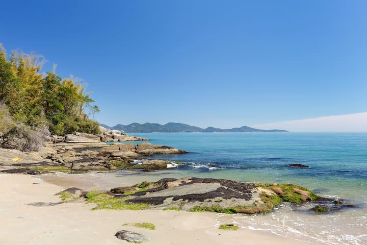50m de Praia Particular no meio da Mata Atlântica
