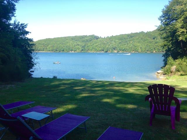Gîte*** avec accès direct au lac ! - Saint-Gérons - Flat