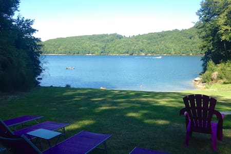 Gîte*** avec accès direct au lac ! - Saint-Gérons - Leilighet