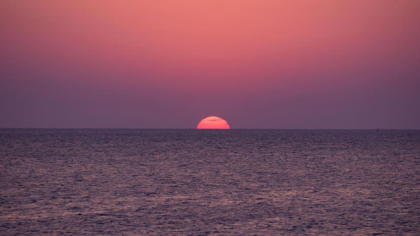 Atlantida frente al mar con preciosa vista. - Ciudad de la Costa - Huoneisto