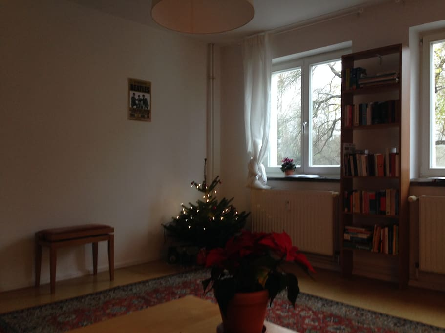 Living Room, Christmas Tree